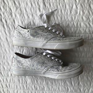 Paisley Vans Sneakers